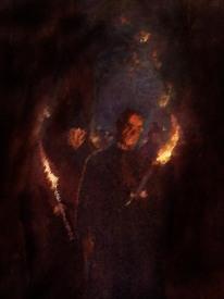 042-A-Procession-in-the-Catacomb-of-Callistus-q85-698x1194
