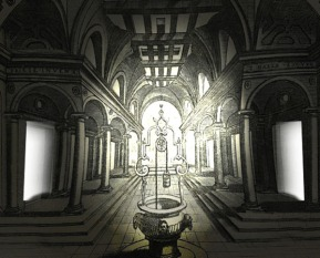 atrium at alexandria